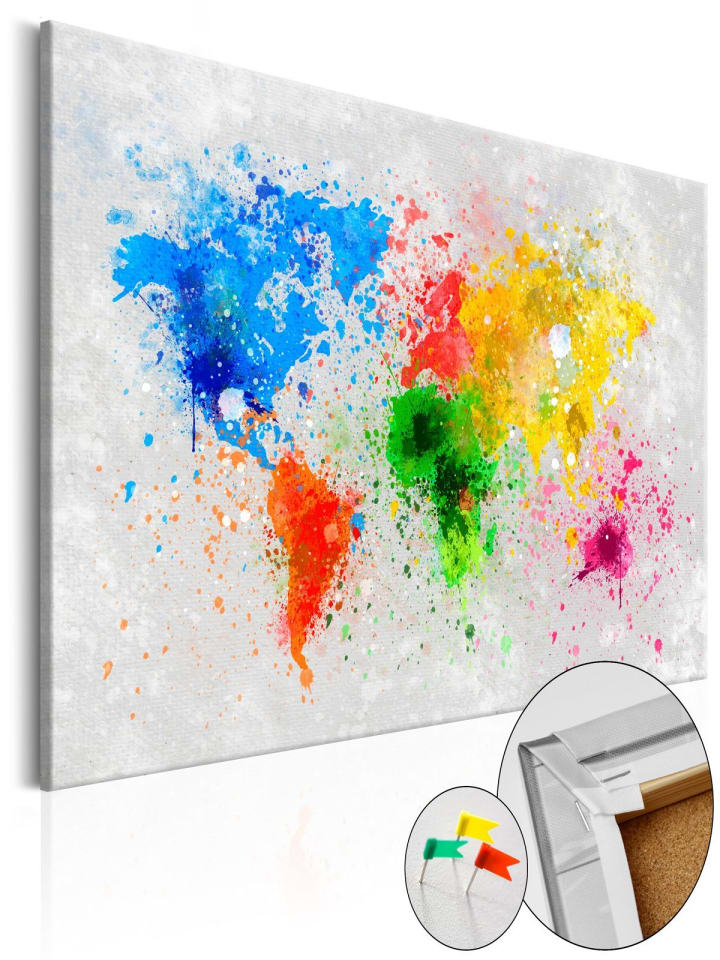 Artgeist Pinnwand Bild Pinnwand Bild: Weltweiter Expressionismus in Grau