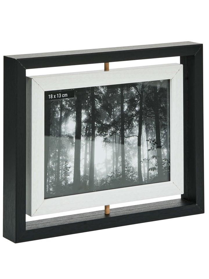 Butlers Bilderrahmen zum Wenden 18x13 cm PICTURE IT in schwarz