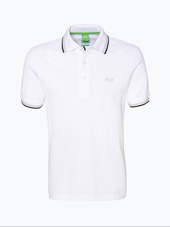 BOSS Poloshirt in weiß
