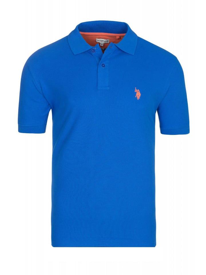 U.S. Polo Assn. Basic Poloshirt in Royal
