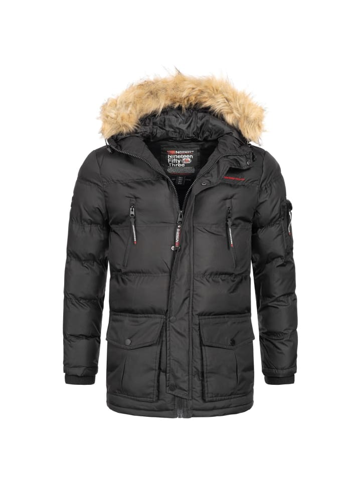 Geographical Norway Geographical Norway Winterjacke BRAVICI in SCHWARZ