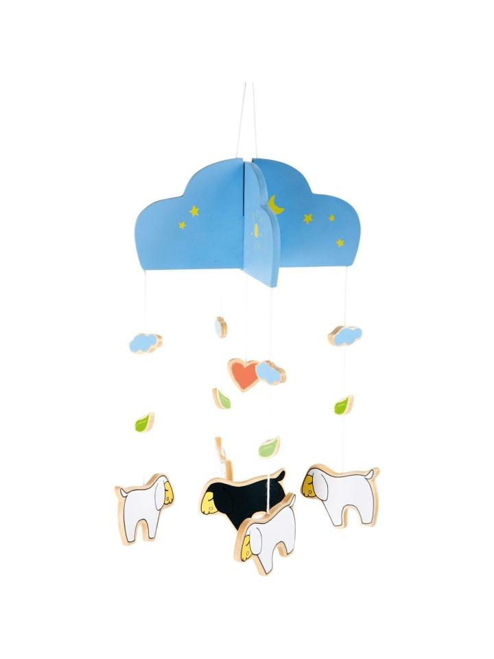 "Small foot Mobile Schäfchen ""Lotta"" in blau, bunt"