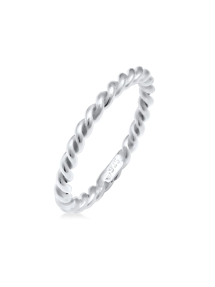 Nenalina Ring 925 Sterling Silber Twisted in Silber