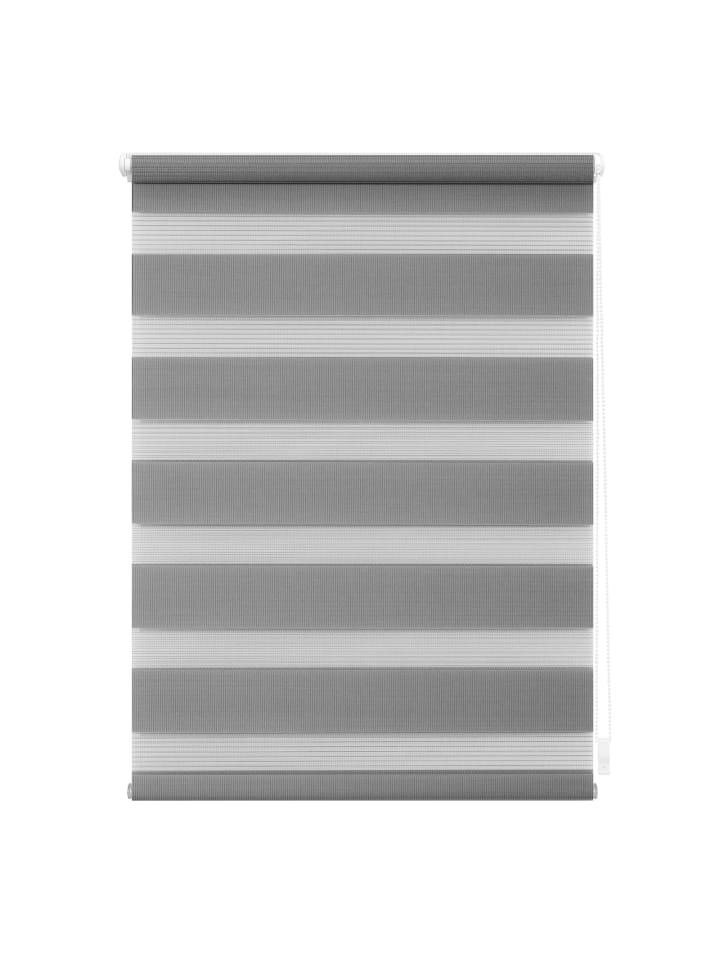 Lichtblick Doppelrollo in Grau