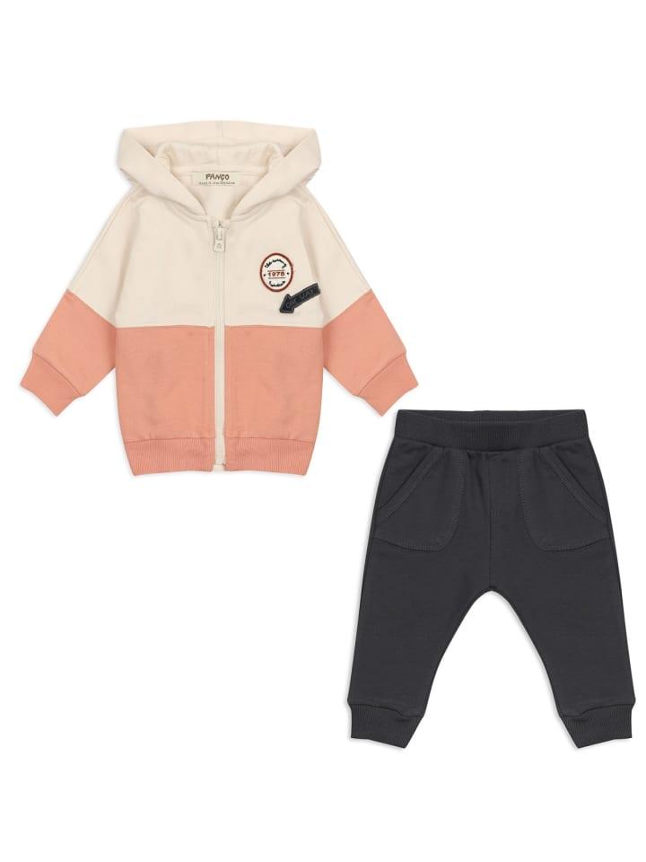 Panco Sweatshirt Look - mit Emblem - für Jungen in Anthrazit