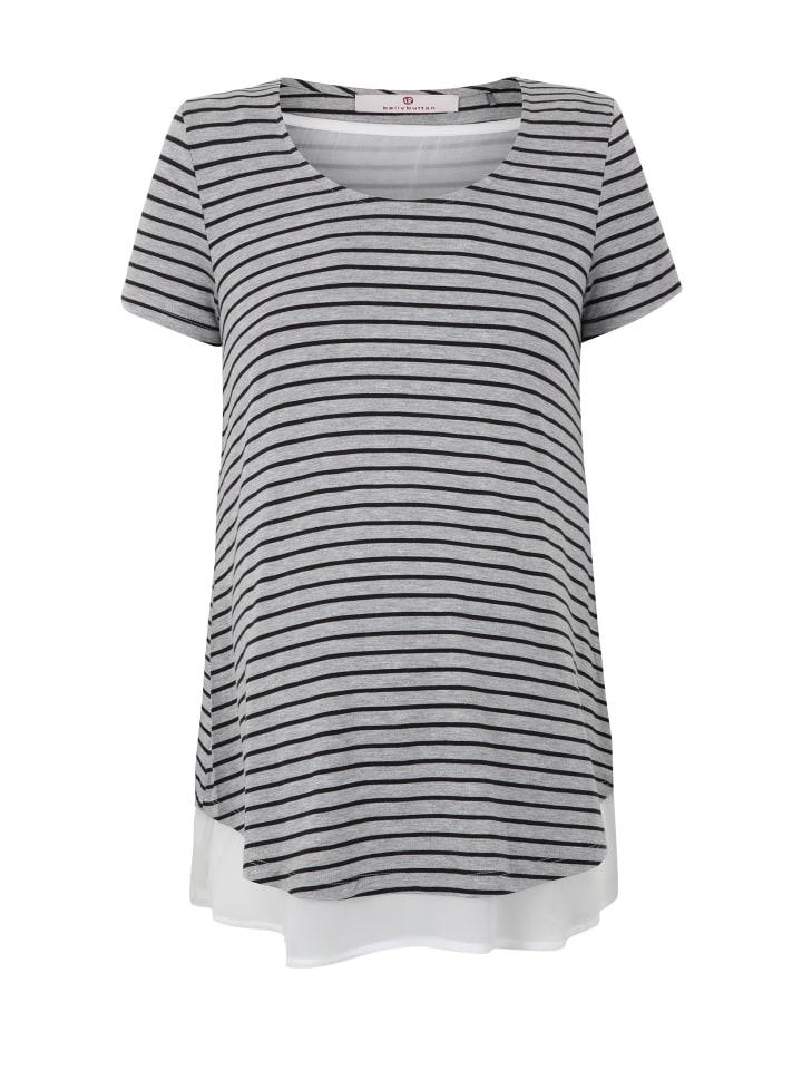Bellybutton Umstands-/Stillshirt 2in1 in y/d stripe
