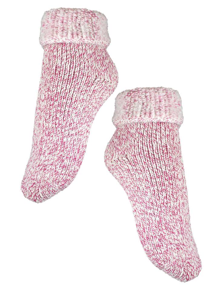 Rogo Socken in Pink