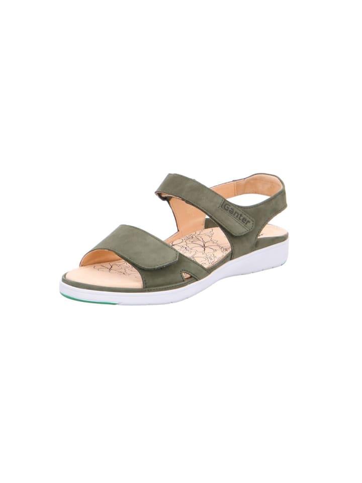 Ganter Sandalen/Sandaletten in grün
