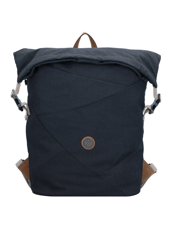 Kipling Edgeland Redro Rucksack 41 cm Laptopfach in casual grey