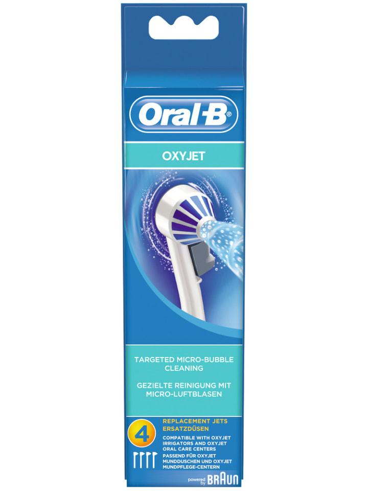 "Oral-B Ersatzdüsen ""Ersatzdüsen OxyJet 4er"" in Weiß"