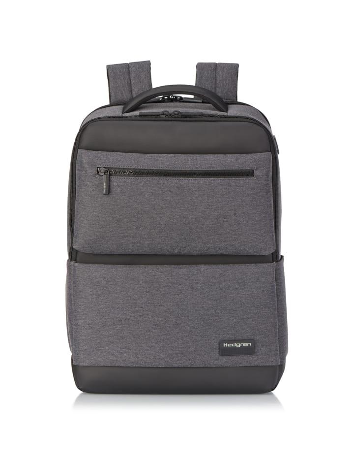 Hedgren Next Script Businessrucksack RFID 42 cm Laptopfach in stylish grey