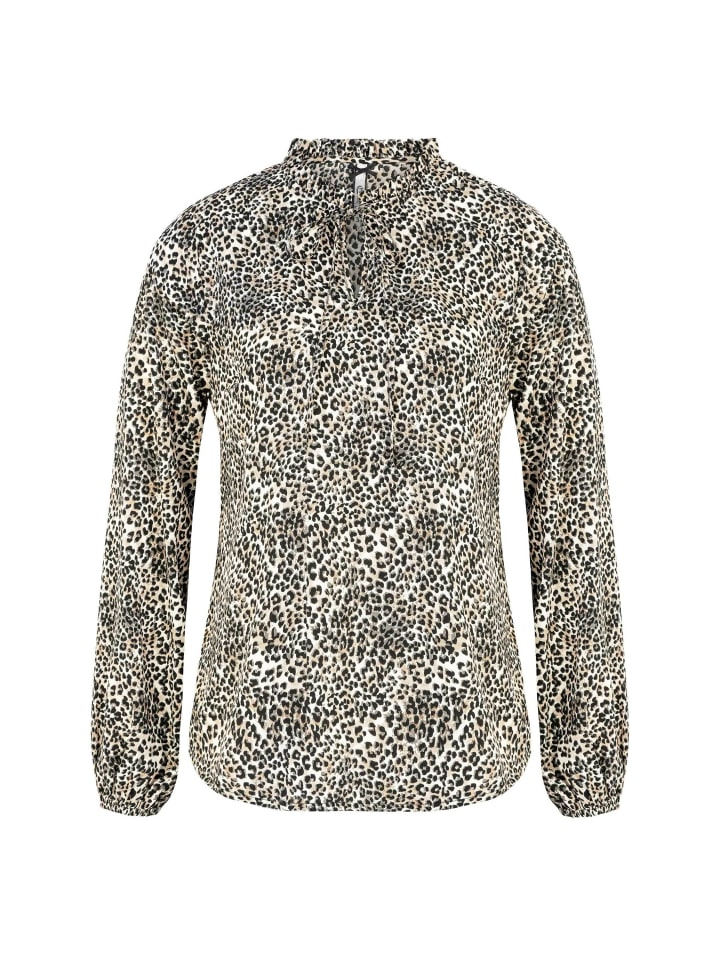 Million X - Women Damen Bluse Animal Print
