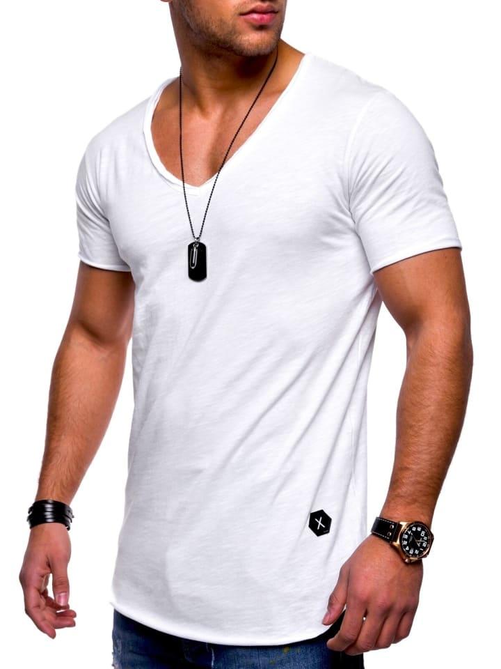 Behype T-Shirt NUKE in weiß
