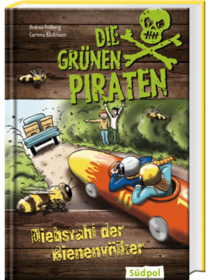 Südpol Die Grünen Piraten - Diebstahl der Bienenvölker
