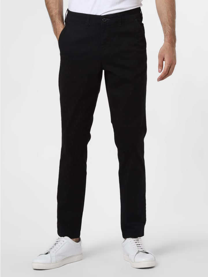 Selected Chino in schwarz