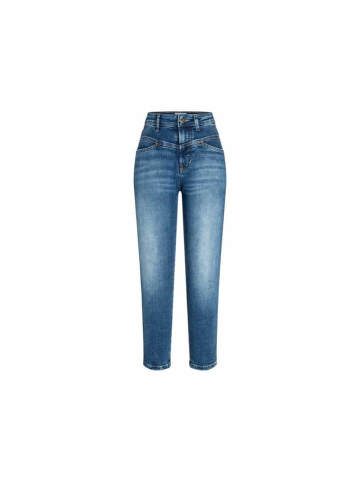 CAMBIO  Jeansshorts in blau