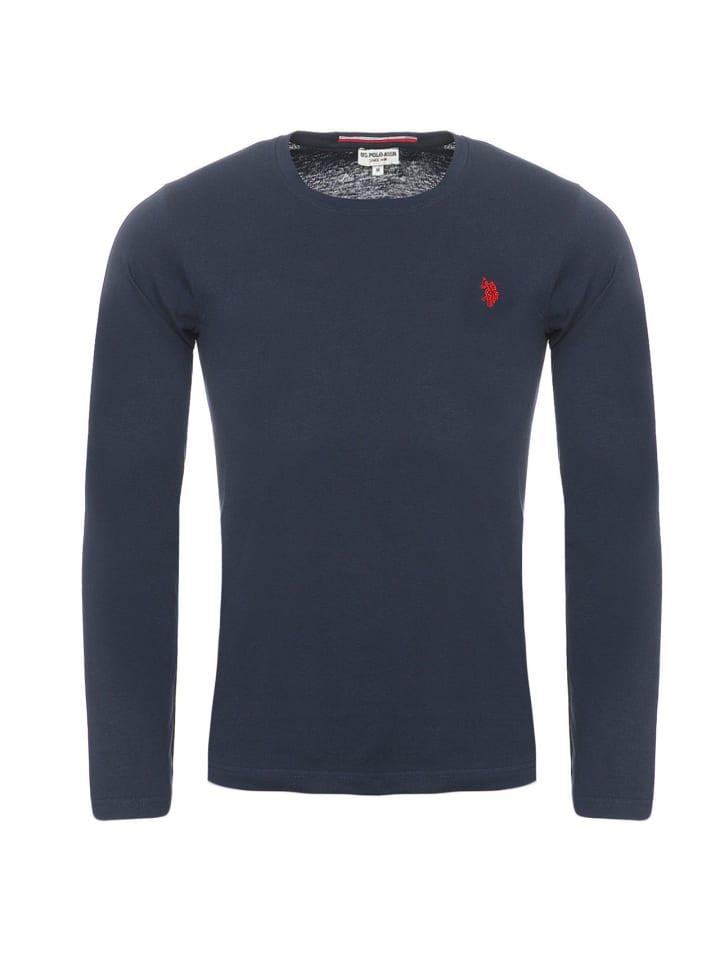 U.S. Polo Assn. Polo LongSleeve Shirt in Navy