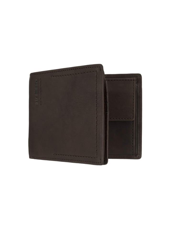 Brieftaschen in dunkel-braun