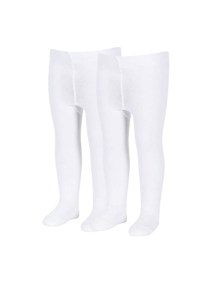 Sterntaler Strumpfhose uni DP in weiß