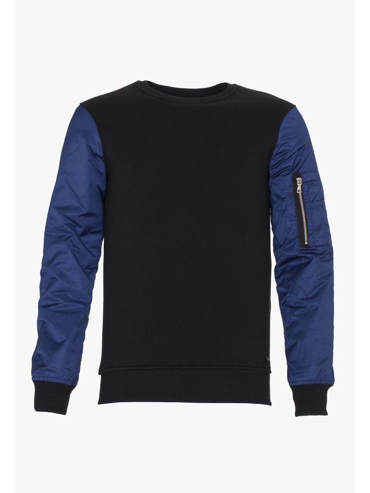 PLUS EIGHTEEN Sweater in Schwarz