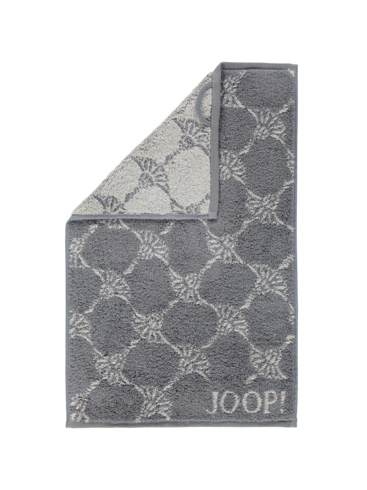 JOOP! Handtücher Cornflower 1611 in Anthrazit - 77