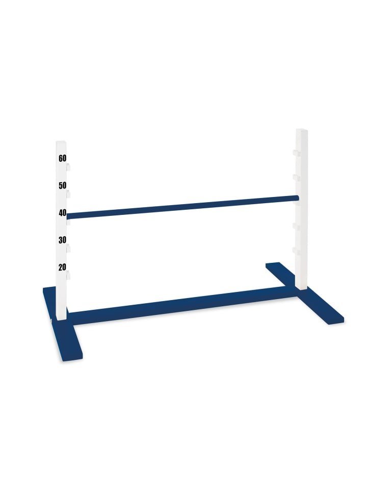 "Pinolino Hindernishürde ""Hopp"" in Blau - (L)92 x (T)50 x (H)67 cm"