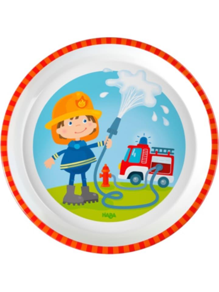 Haba Kinderteller Feuerwehr