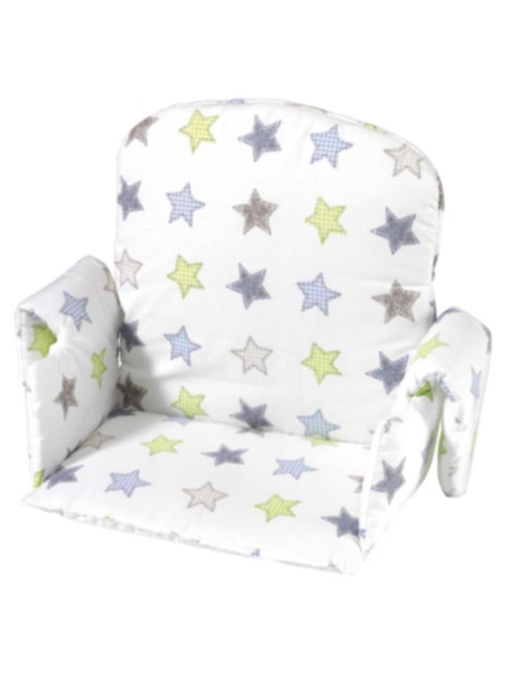 Geuther Sitzverkleinerer für Hochstuhl , Stoff, Sterne