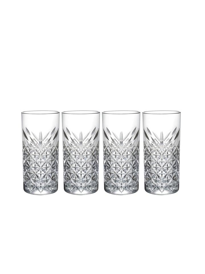 Mäser Longdrinkbecher, Glas Timeless in transparent