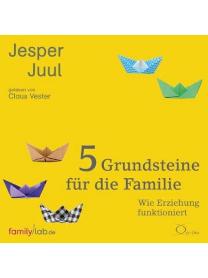 Cc-live 5 Grundsteine für die Familie, 4 Audio-CDs