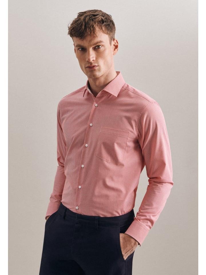 Seidensticker Business Hemd Regular in Rot