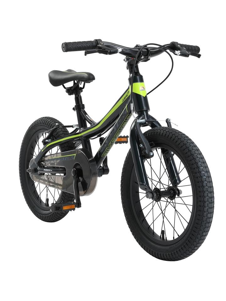 "BIKESTAR Kinder Fahrrad ""Mountainbike"" in Schwarz - 16 Zoll"