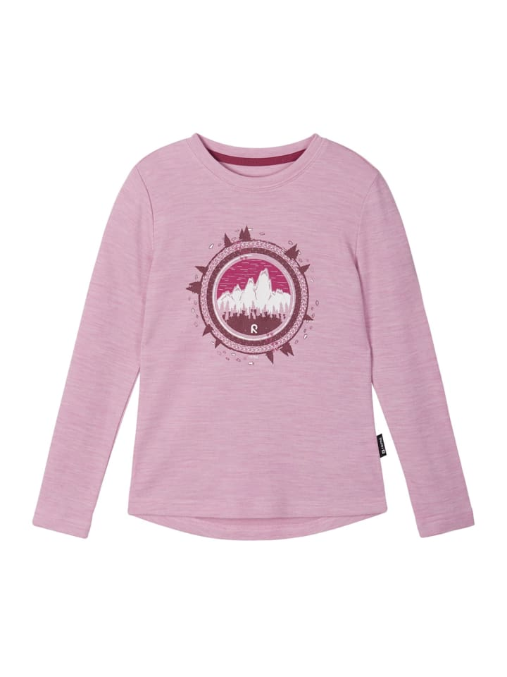 """Reima Longsleeve """" Viluton """" in Rosy pink"""