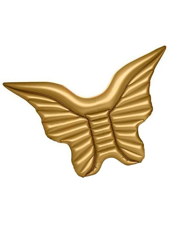 """Badeinsel """" Schwimminsel Flügel gold """" in gold"""