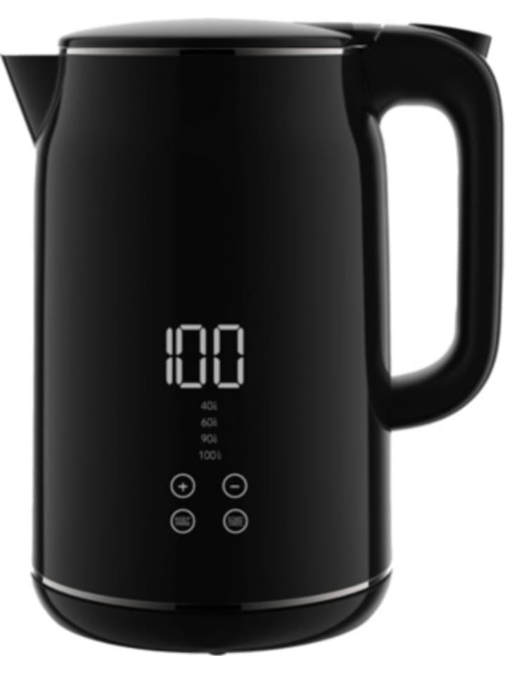 MAXXME Wasserkocher mit LED-Anzeige & Touch-Temperaturwahl, 1,7l