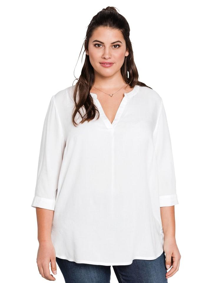 Sheego Tunika in weiß