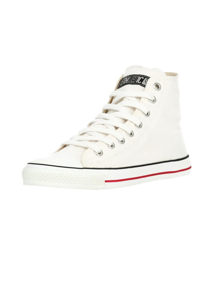 Ethletic Sneaker Hi Fair Trainer White Cap in just white | just white
