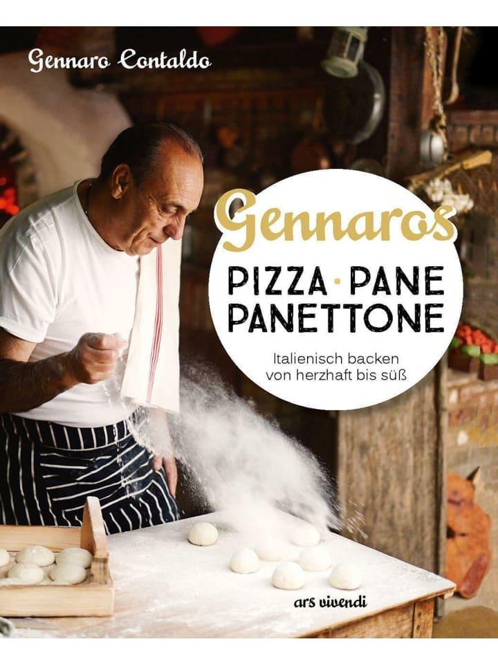 Ars vivendi Gennaros Pizza, Pane, Panettone | Italienisch backen mit Gennaro Contaldo