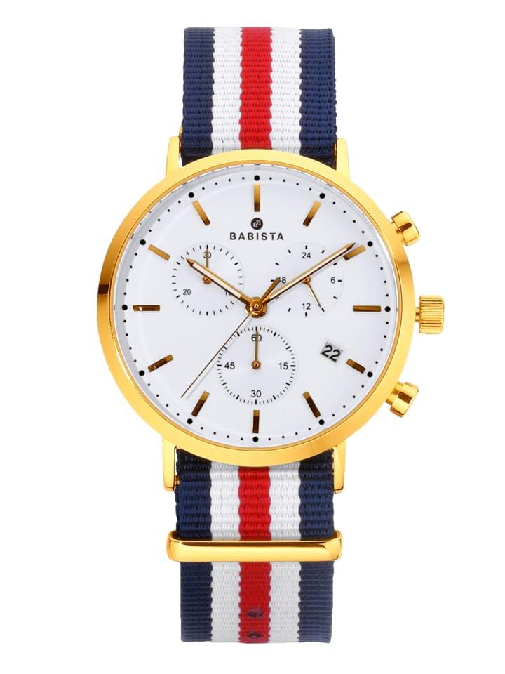 BABISTA 3tlg. Uhren-Set in Gelbgoldfarben