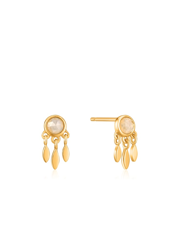 Ania Haie Midnight Fringe Stud E026-06G in gold
