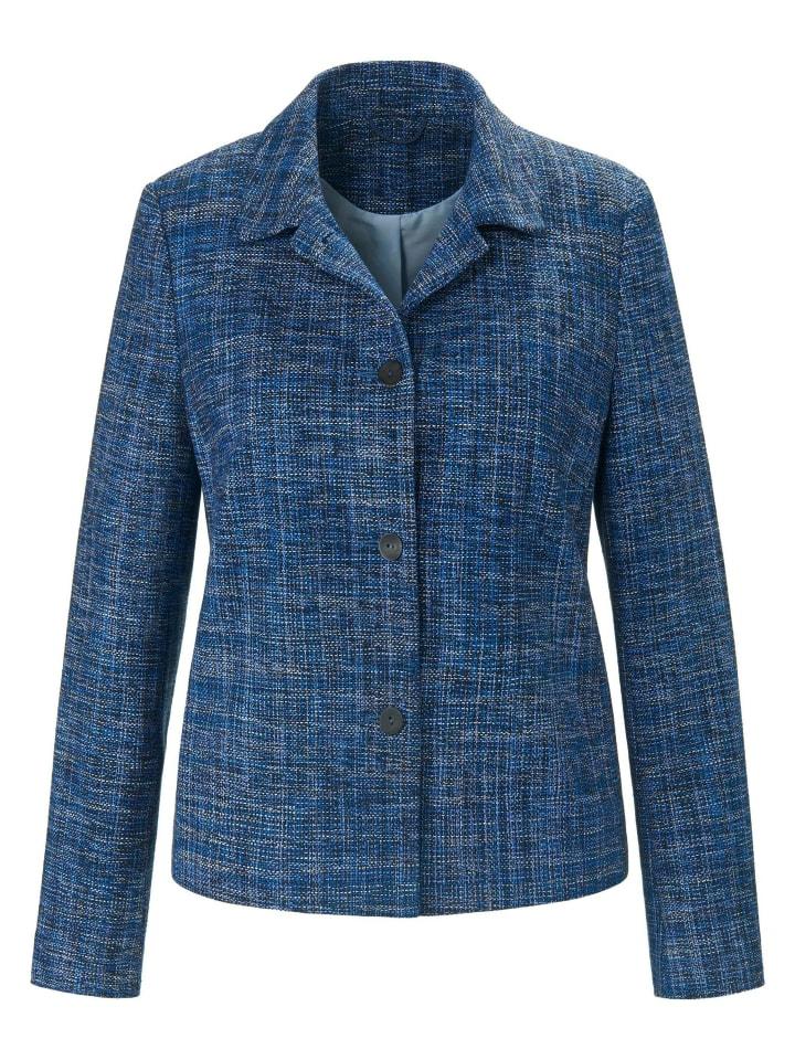 ANNA AURA Blazer Blazer in blau/multicolor