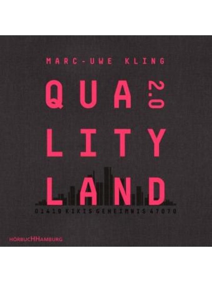 Hörbuch Hamburg QualityLand 2.0, 8 Audio-CD