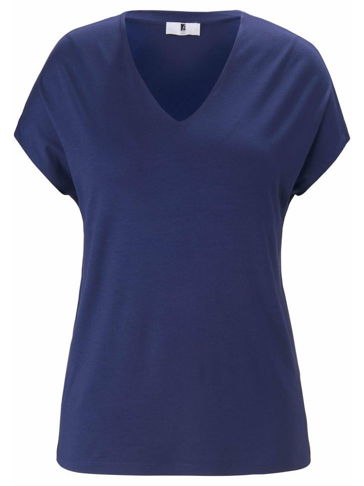 ANNA AURA Shirt V-Shirt in marine