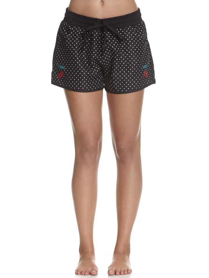 Pussy Deluxe Boardshort Minimal Dots Girl in schwarz allover