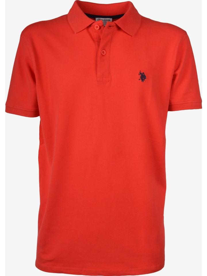 U.S. Polo Assn. U.S. Polo Assn. Basic Poloshirt in CORAIL