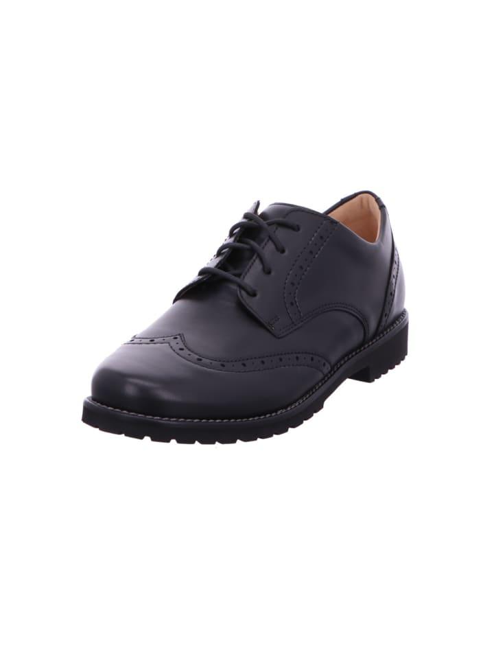 Ganter Schnürschuhe in schwarz