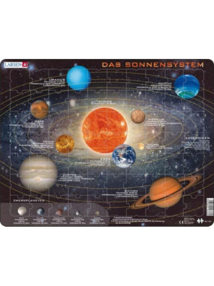 Larsen Rahmen-Puzzle, 70 Teile, 36x28 cm, Das Sonnensystem