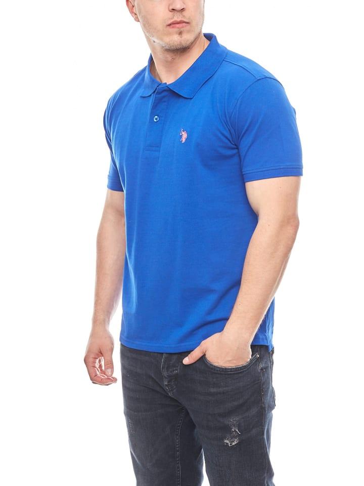 U.S. Polo Assn. Basic Poloshirt in INDIGO