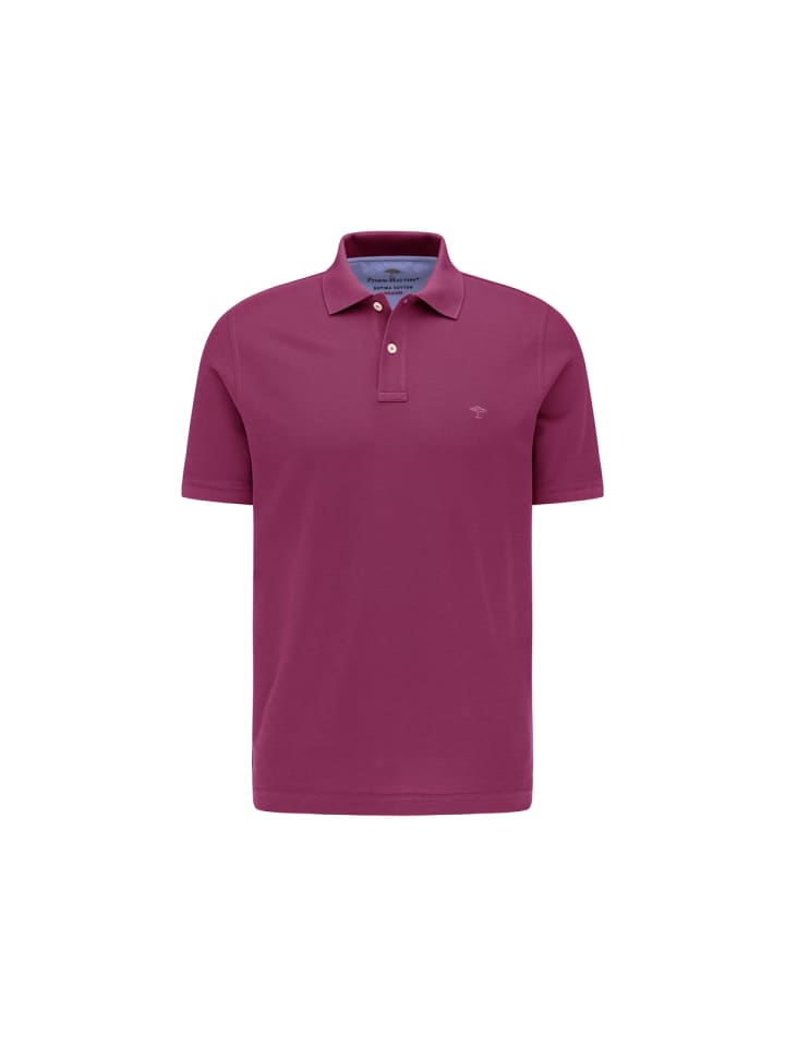 FYNCH-HATTON Poloshirt kurzarm in uni