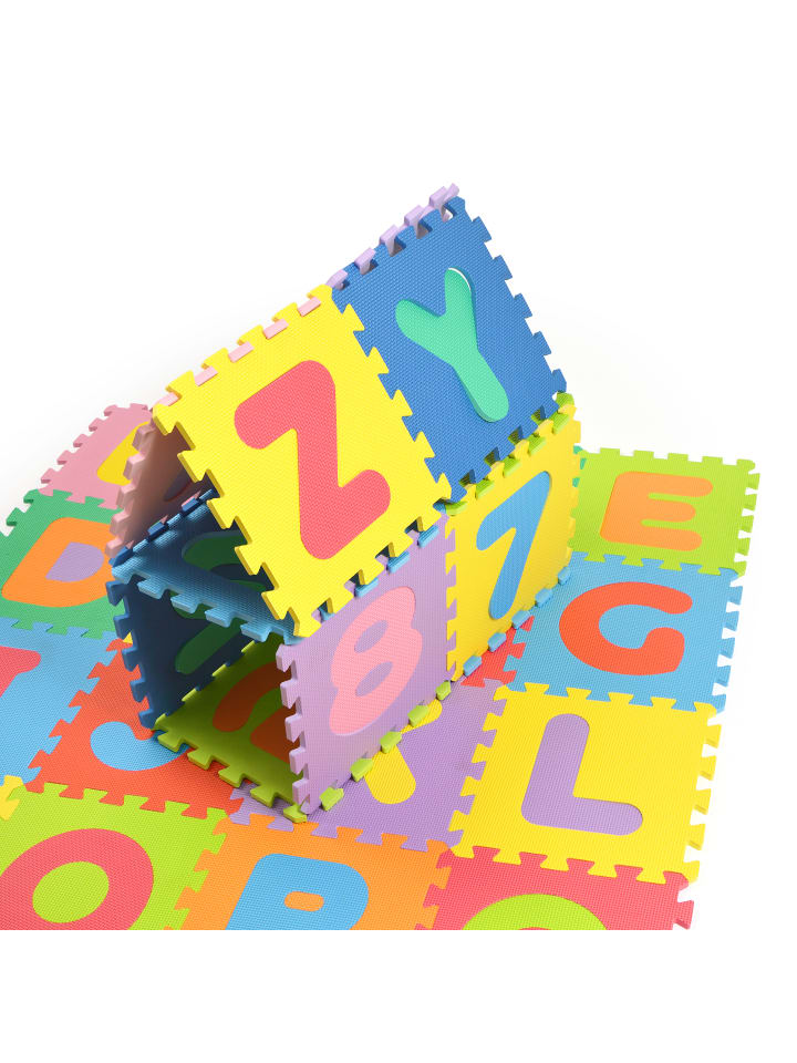 "Pink Papaya Puzzlematte "" Kids Zone "" in Mehrfarbig"